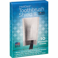 (3 PACK) IntelliDent Disposable Toothbrush Shield 10CT 854431003006