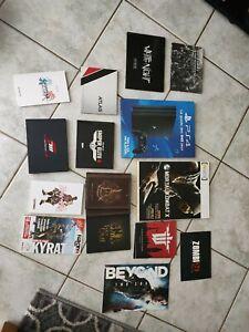 Lot Jeu Video xbox one Playstation Guide Artbook (4 kg)