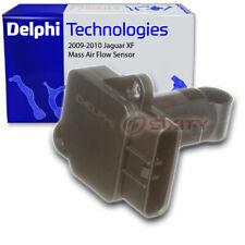 Delphi Mass Air Flow Sensor for 2009-2010 Jaguar XF 4.2L V8 - MAF Intake qe