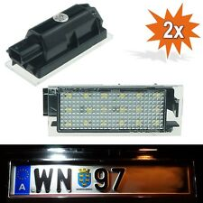 LED Kennzeichenbeleuchtung Leuchte Renault Clio Espace Megane Laguna Twingo P1R6