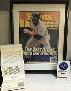Tony Gwynn autographed SI cover framed and matted UD coa hof padres jL/Z1
