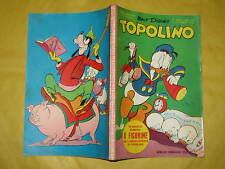 WALT DISNEY TOPOLINO LIBRETTO NUMERO 305 CON PUNTI DEL CLUB 1-10-1961