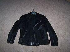Vintage Harley Davidson Leather Motorcycle Jacket By Hein Gericke Size 42 Men