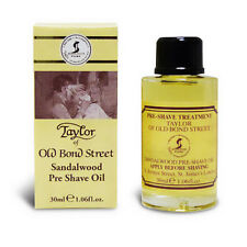Taylor of Old Bond Street Santal Huile Pré Rasage 30ml