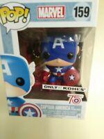 Funko POP! Marvel -CAPTAIN AMERICA 75th Anniversary Photon Shield #159 (Kohls)