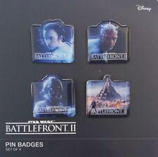 PINS STAR WARS - BATTLEFRONT II - ORIGINAL PIN'S - DISNEY - TOMATO SOURCE - SET