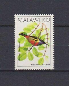 S16522) Malawi MNH 1988 Definitives, Birds 10k 1v