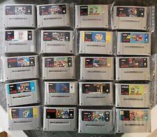 20x Super Nintendo Spiele Sammlung