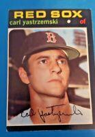 1971 Topps #530 Carl Yastrzemski HOF Boston Red Sox EX to EX-MT
