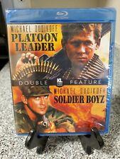 Platoon Leader / Solider Boyz (Blu-ray, 1988, 1995) New! Kino. Michael Dudikoff.