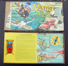 1964 Vintage Board Game Voyage To The Bottom of the Sea Milton Bradley kids toy