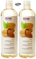 Now Foods Almond Oil 16 oz (PACK of 2) 100% Pure Moisturizing Oil