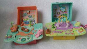 2 Littlest-Pet-Shop-Teeniest-Tiniest-Mini-Pop-Up-Travel-Playset No Pets