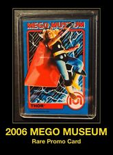 MEGO MUSEUM Thor Marvel Avengers Movie Vinyl Doll Figure 70's WGSH Trading Card