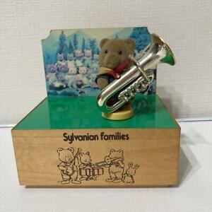 Sylvanian Families music box bear boy