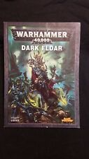 Warhammer 40k Dark Eldar 5th Edition Codex
