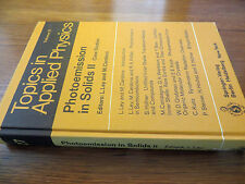 Photoemission in Solids 2: Case Studies, 1979 From NASA Lewis Library