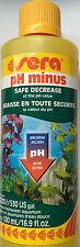Sera pH Minus 500ml - Safe decrease of pH value in Freshwater Aquarium