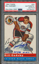 1954/55 Topps #20 Bill Gadsby PSA/DNA Certified Authentic Signed *4422