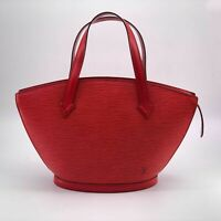 Louis Vuitton, Sac Saint-Jacques en cuir rouge