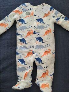 Baby Boys Sleeping Bag Sleepsuit Babygrow 2.5 Tog BNWT Sainsbury's 3-6 months