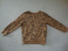 Next boy's sweatshirt age 3-4 - dinosaurs