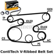 ContiTech V-Ribbed Belt Set Kit - Pt. No: 6PK2236D1 - 6 Ribs - OE Quality