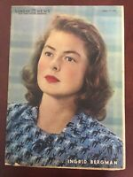 Ingrid Bergman - Movie Star - 1946 Sunday New York Daily News - Magazine Section