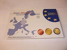 Euro Münzen Kursmünzensatz KMS Deutschland Karlsruhe G Polierte Platte PP 2004