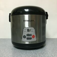 VitaClay Rice N' Slow Cooker VF7700-8 4.2 Quart/8 cups