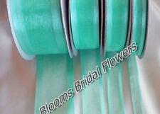 Nœuds, rubans et ficelles verts sans marque pour emballage et paquet cadeau