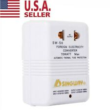 110V ~220V Step-Up & Down Voltage Converter 70W Watt Transformer Travel USA