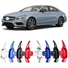 Alloy Steering Wheel DSG Paddle Extension Shifters Cover For Mercedes CLS350 14+