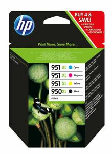 HP 950XL/951XL Kit 4 Cartucce di Inchiostro - Nero, Ciano, Magenta, Giallo