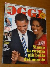 OGGI 2009/30=BARACK OBAMA=JONAS BROTHERS=FOGAR=MASSIMO PICOZZI=VIRNA LISI=