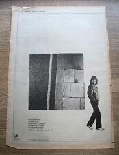 GEORGE HARRISON - SOMEWHERE IN ENGLAND - ORIGINAL ADVERT  POSTER 1981
