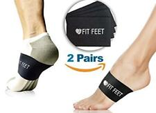 2 Pairs Plantar Fasciitis Compression Sock Sleeves with Arch Support.