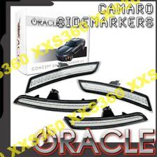 ORACLE Chevrolet Camaro 2016-2019 CLEAR Concept LED Sidemarker Set FRONT & REAR!