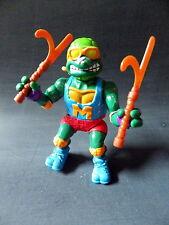 Figurine tortue ninja 1991 mirage studios playmates michelangelo 2 armes