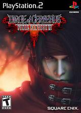 Final Fantasy VII Dirge Of Cerberus PS2 Complete Game