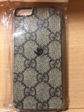 Gucci Iphone 5 Brown Leather Cell Phone Case Luxury