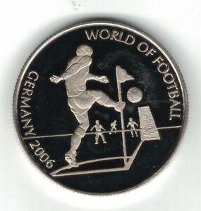 MALAWI 10 KWACHA UNC COIN 2006 YEAR FIFA WORLD CUP FOOTBALL