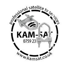 PARABOLA SKY Clamp bracet Freesat WARSAW più grande V-Bolt