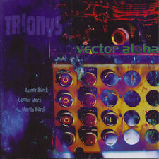 vector alpha CD by German supergroup TRIONYS - New CD