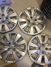 "4-original 2012 2013 2014 YARIS wheel covers set 15""  hub cap wheelcover"