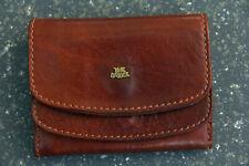 °° THE BRIDGE kleine Geldbörse Geldbeutel Vintage - Leder marrone braun - TOP °°