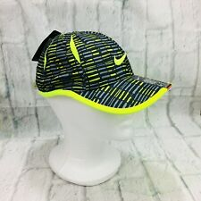 Nike Boy's Dri-Fit Cap Black/Volt Size 4-7 Light Weight Polyester Just Do It Nwt