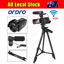 "HD 1080P Digital Video Camera 3""LCD 16X ZOOM  WiFi Camcorder  DV 24MP + Tripod"