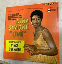 NINA SIMONE LIVE WITH SPECIAL GUEST VINCE GUARALDI