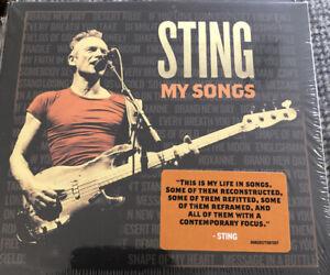 Sting My Songs New Sealed Digipak Cd Police